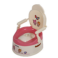 Детский горшок SWEET TIME молочный/розовый FROEBEL , фото 1
