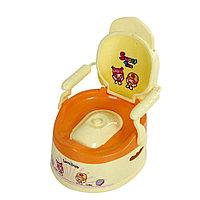 Детский горшок SWEET TIME лимоновый/оранжевый FROEBEL , фото 1