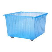 ВЕССЛА Ящик на колесах, синий, фото 1