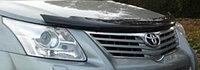 Мухобойка (дефлектор капота) EGR Toyota Avensis 2009+ с логотипом седан