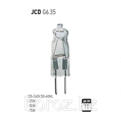 Галогенная лампа 35 Ватт c цоколью JCD G6.35