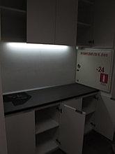 Встроенный шкаф для офиса