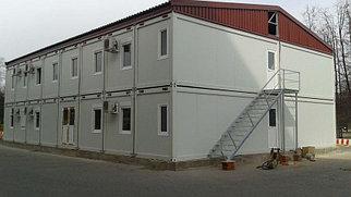 Здание модульного типа, быстровозводимые модульные здания