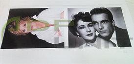 Высококачественная печать на холсте, фотобумаге