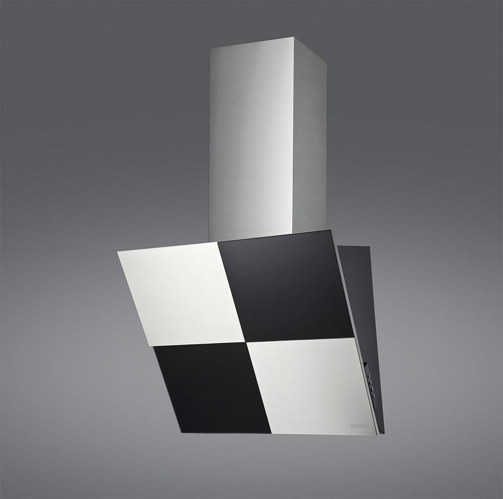 Кухонная вытяжка пристенная SLHD2060BAA black