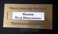 Сменная табличка 30х15 см