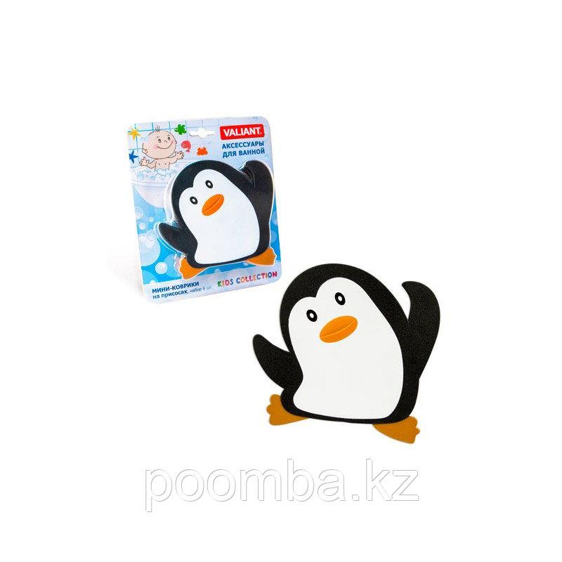 """Мини-коврик для ванной """"Пингвин"""""""