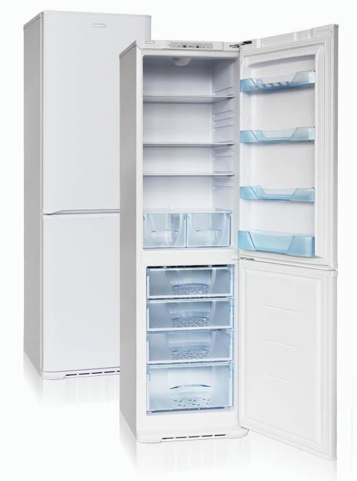 Холодильник двухкамерный  Бирюса-129S (2070*600*625 мм ) белый