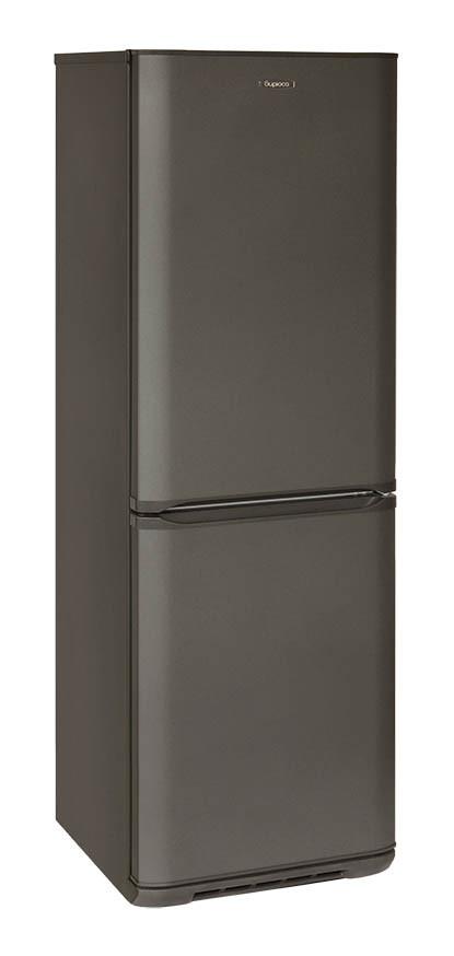 Холодильник двухкамерный Бирюса-W143SN NO FROST (1750*600*625 мм) графит