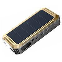 """Универсальное пуско-зарядное устройство """"JumpStarter Solar"""" с солнечной панелью"""