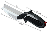 Нож-ножницы с разделочной доской 2 В 1 CLEVER CUTTER, фото 3