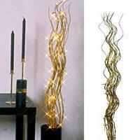 Декорация электр. Ива золотистая 115см 50ламп 580-40