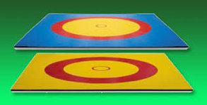 Ковер борцовский (трехцветный) 10х10м соревновательный толщина 4 см, фото 2