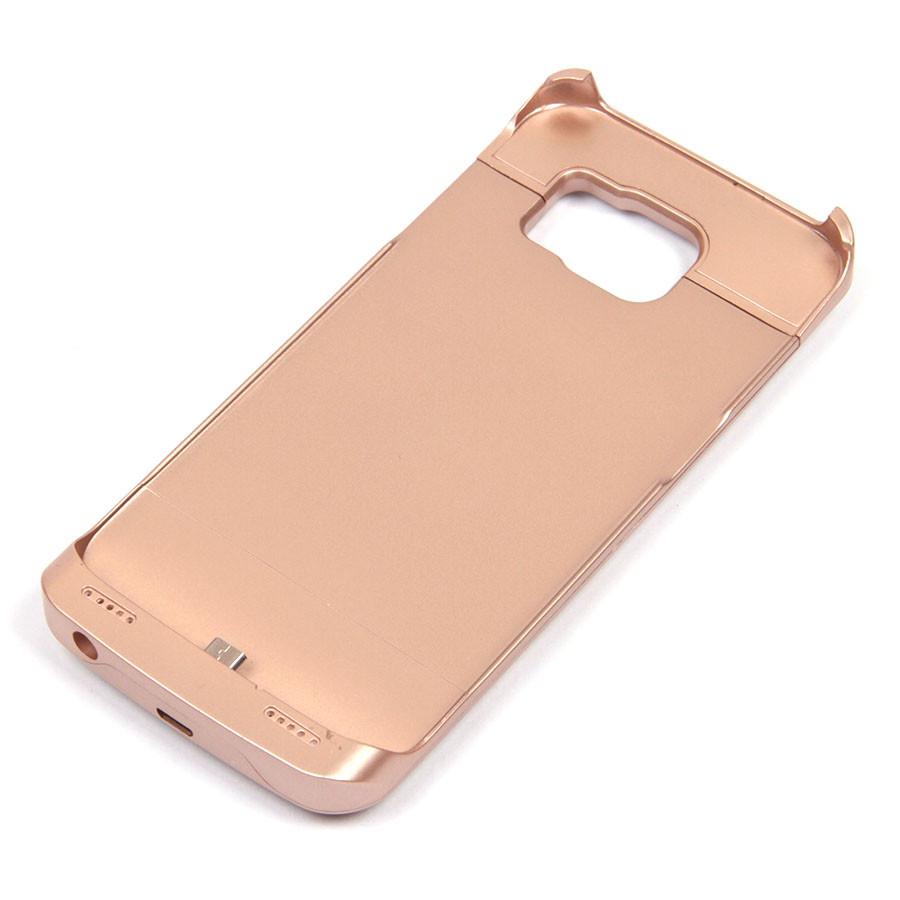 Чехол-аккумулятор для Samsung Galaxy S6 G920F (золотистый, 3000 мАч)