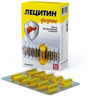 Лецитин форте, 30кап*600мг