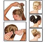 Валик - заколка для волос Hot Buns, фото 3