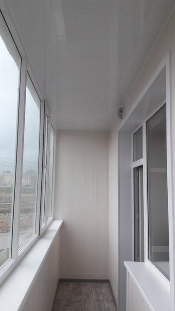 Обшивка и утепление балкона Жагалау 7 9