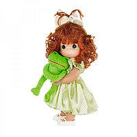 """Кукла Precious Moments """"Девочка и лягушонок Элли"""", 30см, фото 1"""