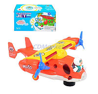 8352 самолет Cartoon Jet Aircraft