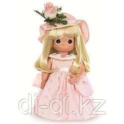 "Кукла Precious Moments ""Цветок дружбы"", розовая  30см"