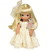 "Куклы Precious Moments ""Люби меня"", блондинка 30см, фото 1"