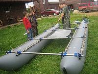 Надувные баллоны (гондолы) для катамарана К-400 (двойки), фото 1