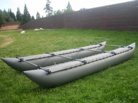 Надувные баллоны (гондолы) для катамарана К-600 (шестерка-восьмерка)