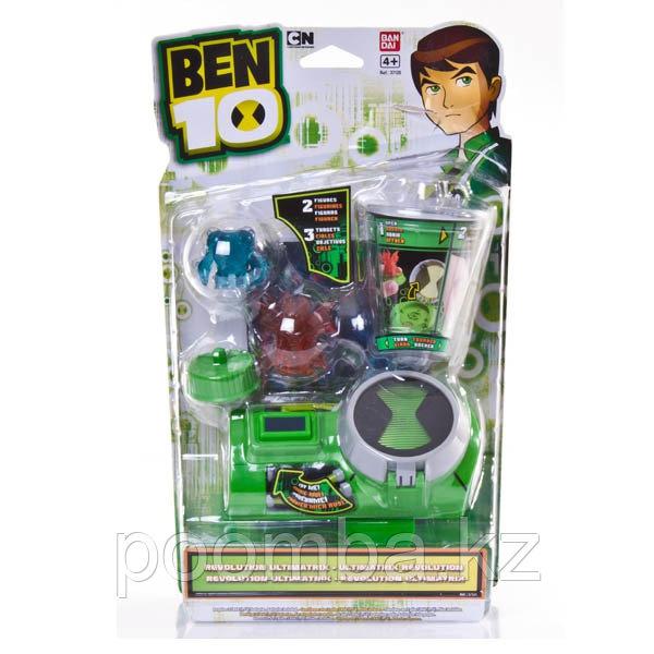 Часы Ben10 37120 Бен 10 Часы Ультиматрикс Революционные с мини-фигурками