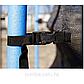 Батут уличный диаметром 244 см, с защитной сеткой и лестницей, фото 4