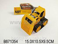"""Трактор желтый """"Супер грузовик"""" 871354"""