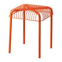 Табурет д/дома/улицы ВЭСТЕРОН оранжевый ИКЕА, IKEA, фото 1