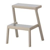 Табурет-лестница МЭСТЕРБИ бежевый ИКЕА, IKEA
