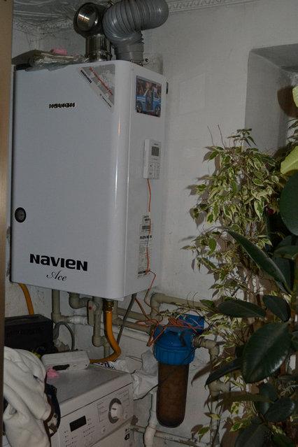Navien настенный газовый котел