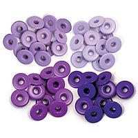 Люверсы с широкой шляпкой Фиолетовые