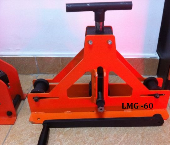 Станок - трубогиб профильной трубы LMG-40 LMG -60  Трубогибочный станок