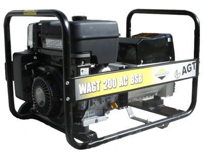 Бензиновая электростанция с функцией сварки WAGT 200 AC BSB