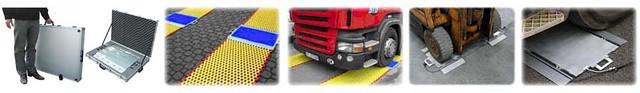 Переносные автомобильные поосные весы GZBII