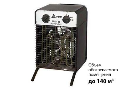 Тепловентилятор ТСС ТВ-03-90. Новосибирск