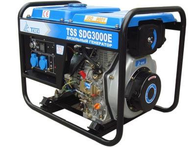 Дизельный генератор TSS SDG 3000E в Новосибирске, Томске, Кемерово, Барнауле, Иркутске.