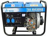Дизельный генератор TSS SDG 3000E в Новосибирске, Томске, Кемерово, Барнауле, Иркутске., фото 2