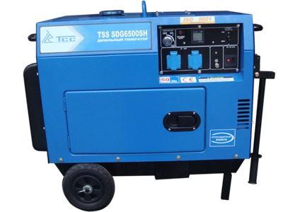 Дизель генератор TSS SDG 6500SH