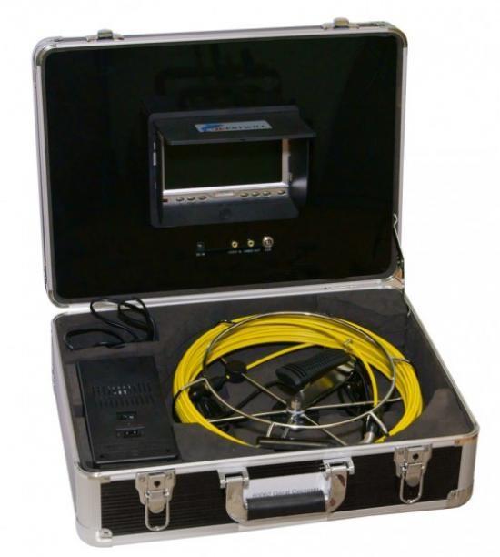 Система видеодиагностики с проталкиваемым кабелем до 50 метров