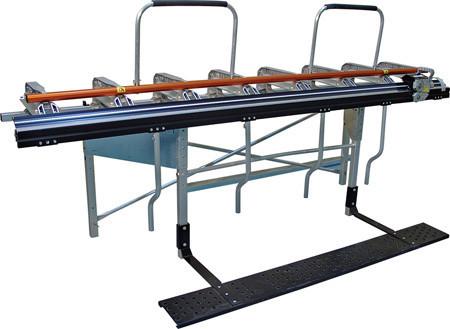 Листогиб Tapco SuperMax-12 3,80 м со стойкой и роликовым ножом