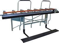 Листогиб Tapco SuperMax-14 4,42 м со стойкой и роликовым ножом
