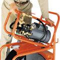 Электрические высоконапорные водоструйные аппараты для прочистки труб М-1400, 1450, 1600, фото 5