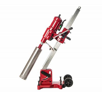 Алмазная сверлильная установка V-Drill 255N с наклонной стойкой