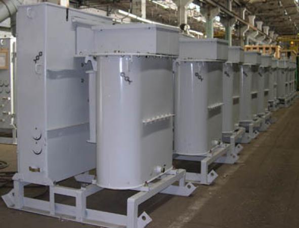 Трансформатор силовой для прогрева бетона  КТПТО-80.0