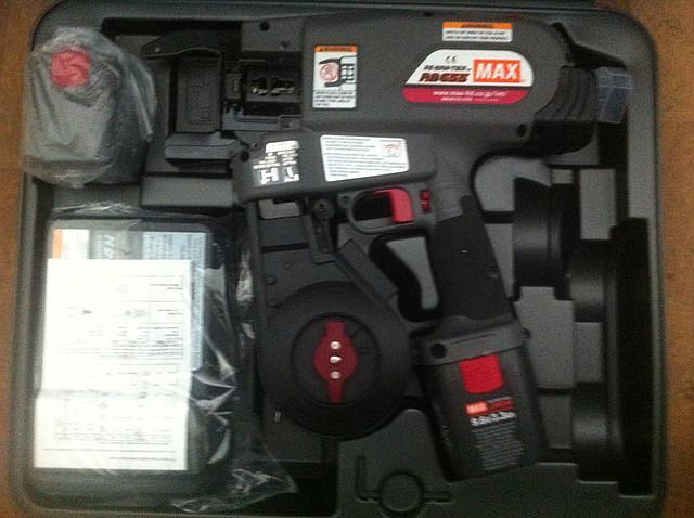 Пистолет для вязки арматуры MAX RB515