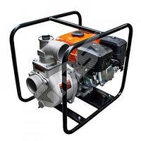 Мотопомпа бензиновая GROST-LIFAN 80ZB30-4.8Q для чистой и слабозагрязненной воды