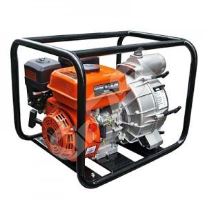 Мотопомпа бензиновая GROST-LIFAN 80WG для средне- и сильнозагрязненной воды